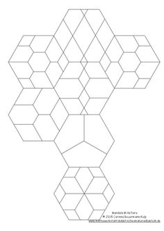 236x333 Pieced Hexagons Hexagon Quilting, English Paper Piecing