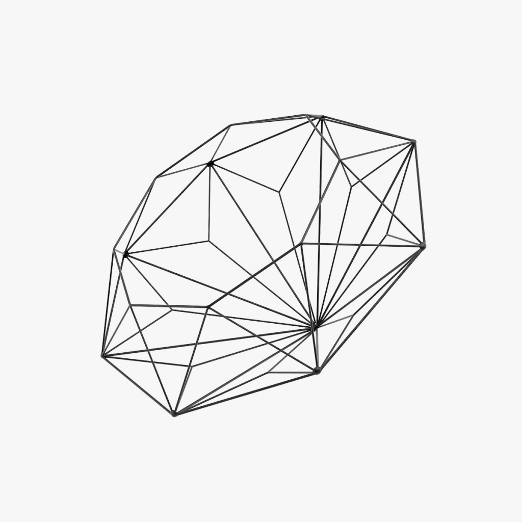 1024x1024 Simple 3d Diamond Drawing How To Draw A 3d Hexagon