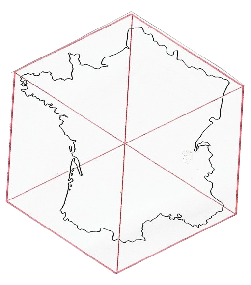 511x580 Zoom France France Shaped Like A Hexagon