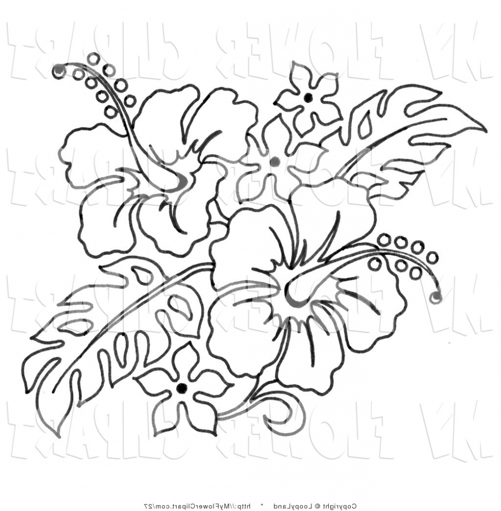 1004x1024 Hibiscus Label Sketch Draw Hibiscus Flower And Label