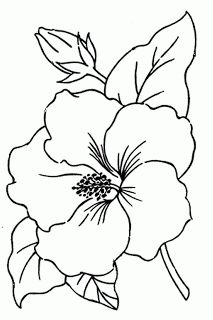 213x320 Black, Outline, Drawing, Flower, White, Flowers, Free Drawing
