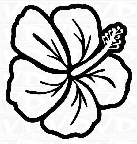447x469 Drawn Bouquet Hawaiian Flower
