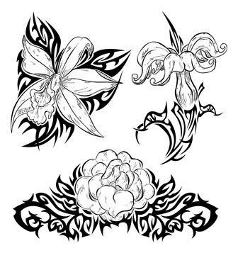 336x357 Stunning Hibiscus Flowers Tattoo Designs In 2017 Real Photo