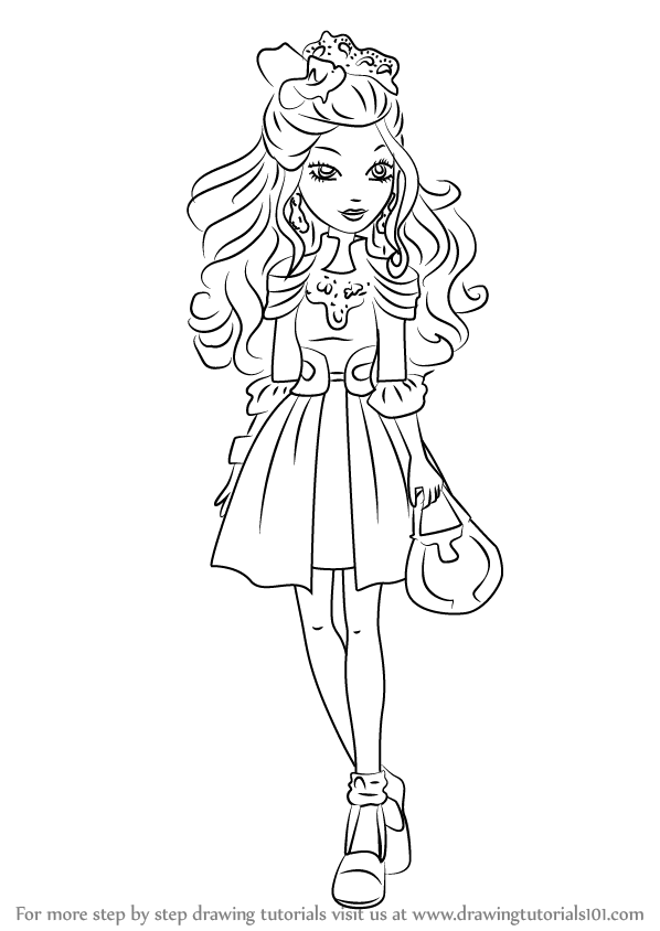 598x844 Learn How To Draw Darling Charming From Ever After High (Ever
