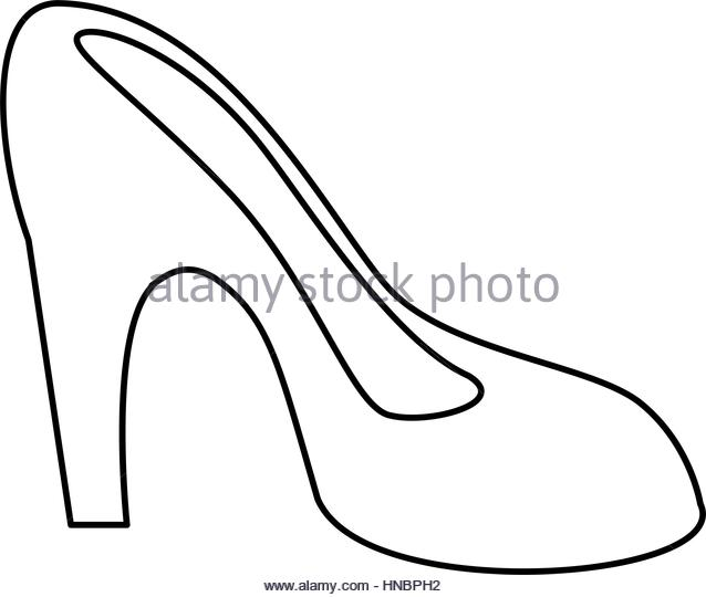 638x540 High Heel Shoes Black And White Stock Photos Amp Images