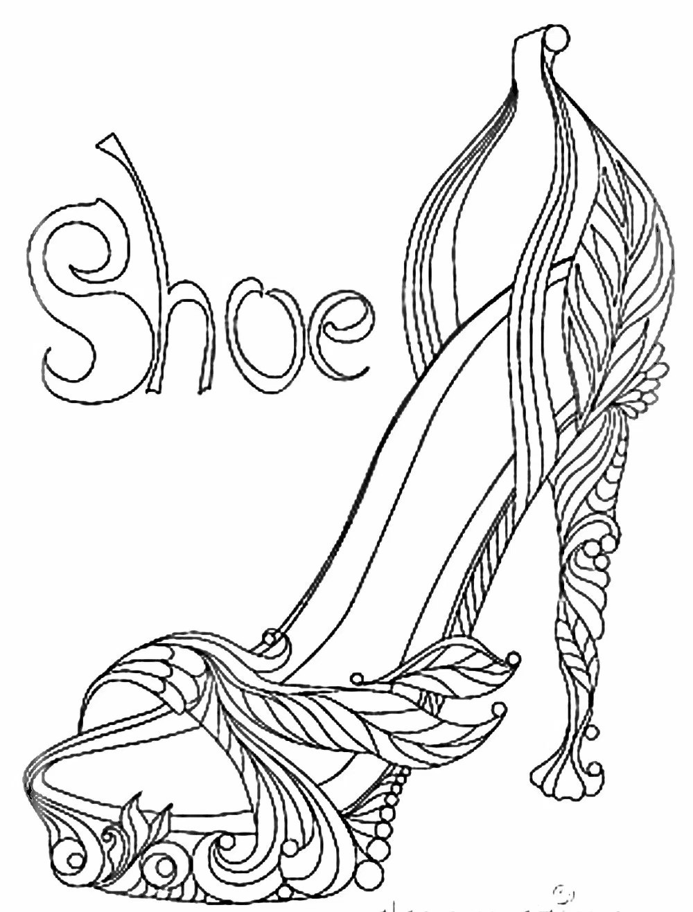 1000x1317 Coloring Pages High Heel Shoes Fresh Coloring Pages Hearts