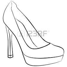 225x225 Drawn Heels Woman Shoe