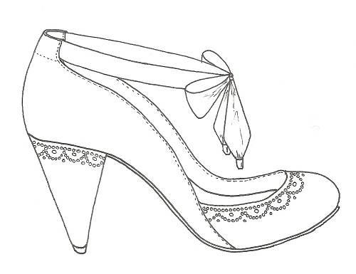 500x385 Shoes Drawing Designs Shoes Drawing Designs Wedding Fashion Female