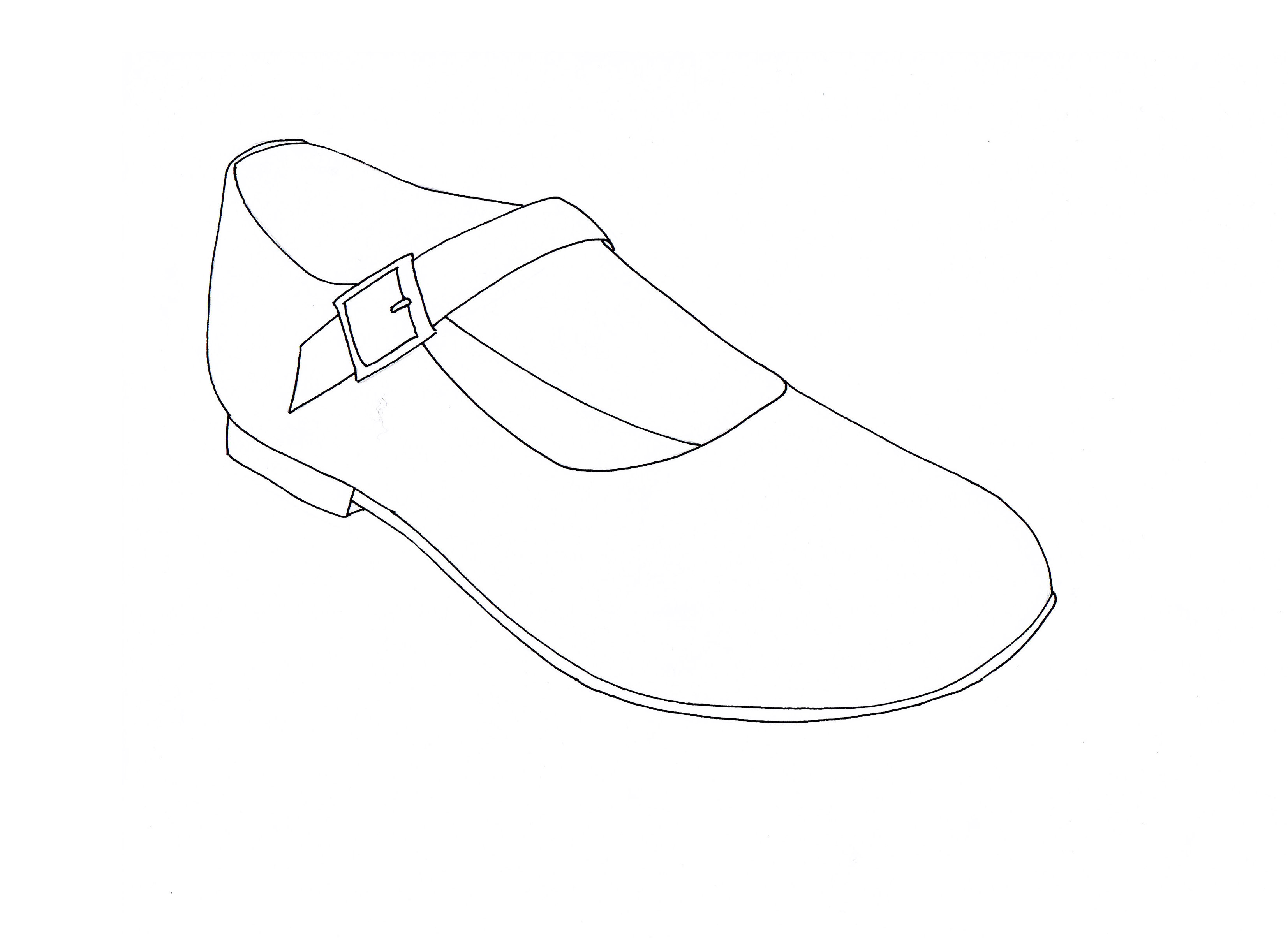 design a shoe template choice image