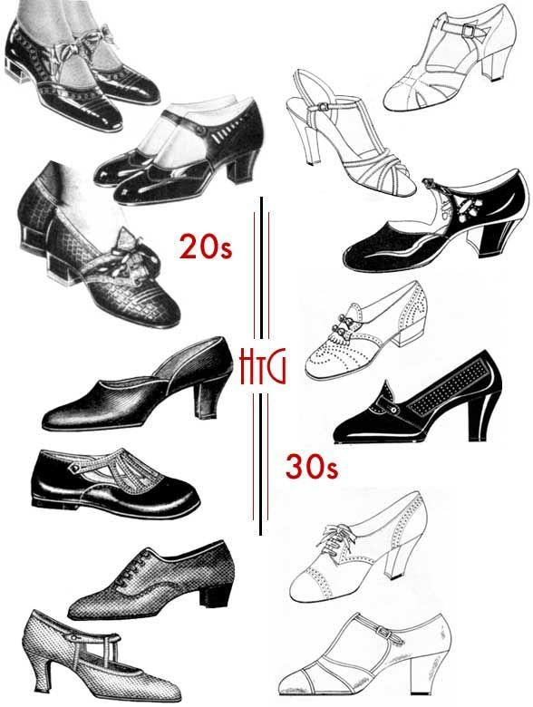 588x780 Drawn Heels Vintage Shoe