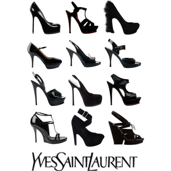 600x600 Yves Saint Laurent Black Shoes