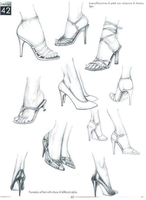 500x682 Drawing Art Heels Shoes Draw Feet High Heels Anatomy Sneakers Foot