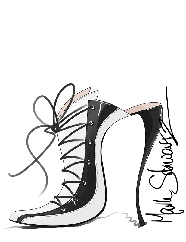618x800 How To Draw Shoes. Disney Asked 9 Designers To Create Their Own