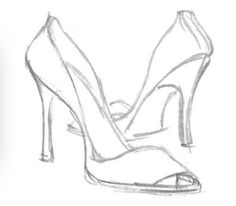 High Heels Drawing