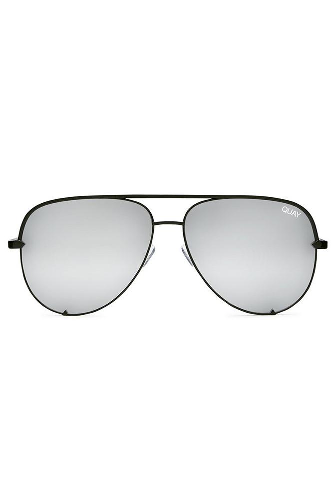 a932350cabb 667x1001 Hello Molly Quay High Key Sunglasses Black Silver
