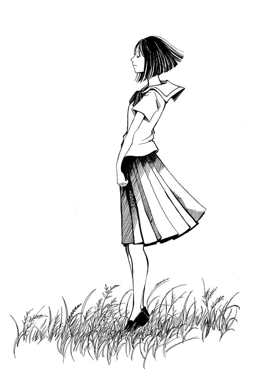 900x1339 High School Girl By K Hiroko