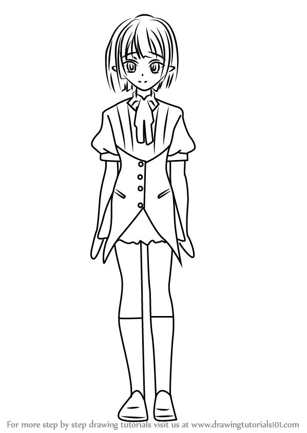 598x844 Learn How To Draw Gasper Vladi From High School Dxd (High School