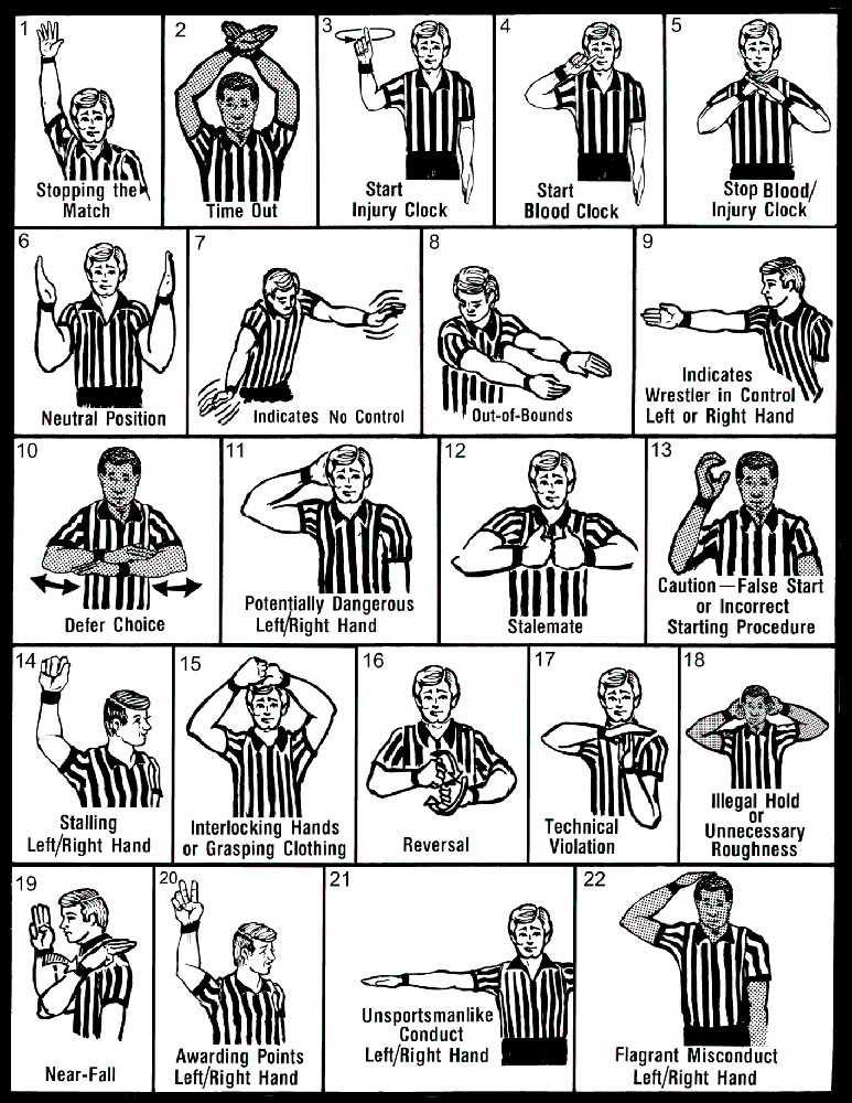 773x1000 Wrestling Referee Hand Signals Jr Patriots St Louis Youth