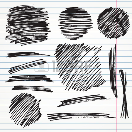 450x450 Set Of Hand Drawn Highlighter Elements Such As Arrows, Underlines