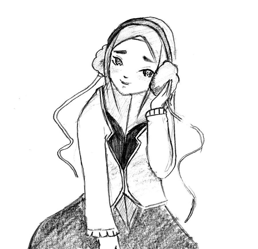 900x869 Girl In Hijab 04 By Haru91
