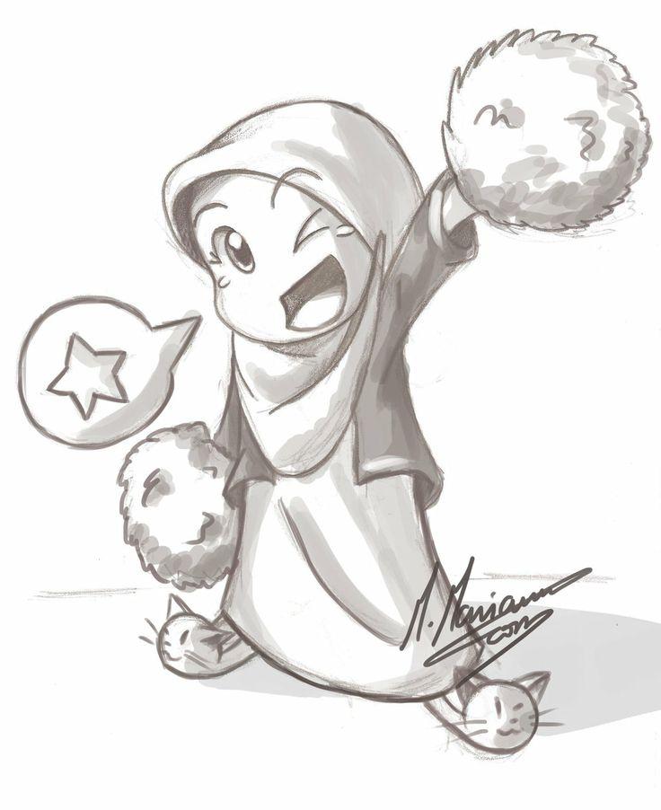 736x902 59 Best Islamic Chibi Images On Pinterest Hijab Cartoon