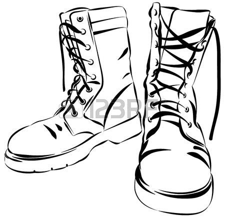 450x434 Hiking Boots Stock Photos. Royalty Free Business Images