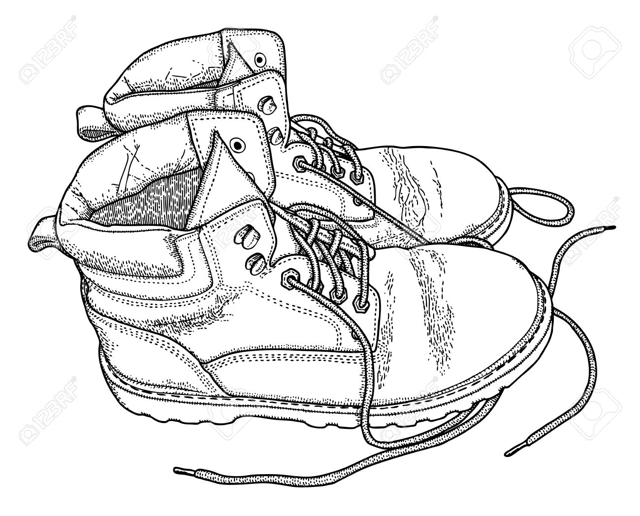 1300x1049 Drawn Boots Work Boot