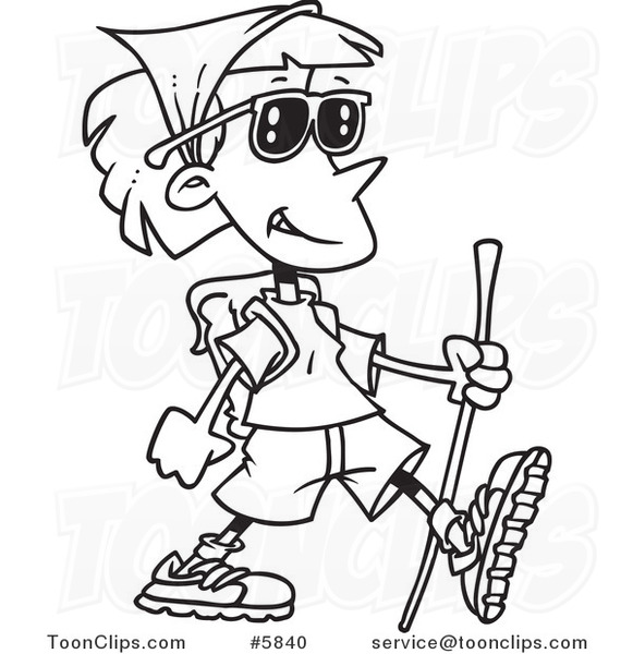 581x600 Hiking Cut Out Clipart