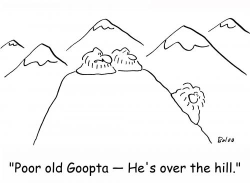 500x366 Over The Hill By Rmay Religion Cartoon Toonpool