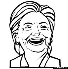 Hillary Clinton Drawing