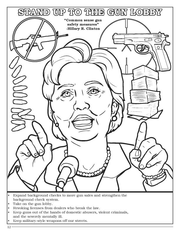 612x792 Coloring Books Hillary Clinton Coloring And Activity Book