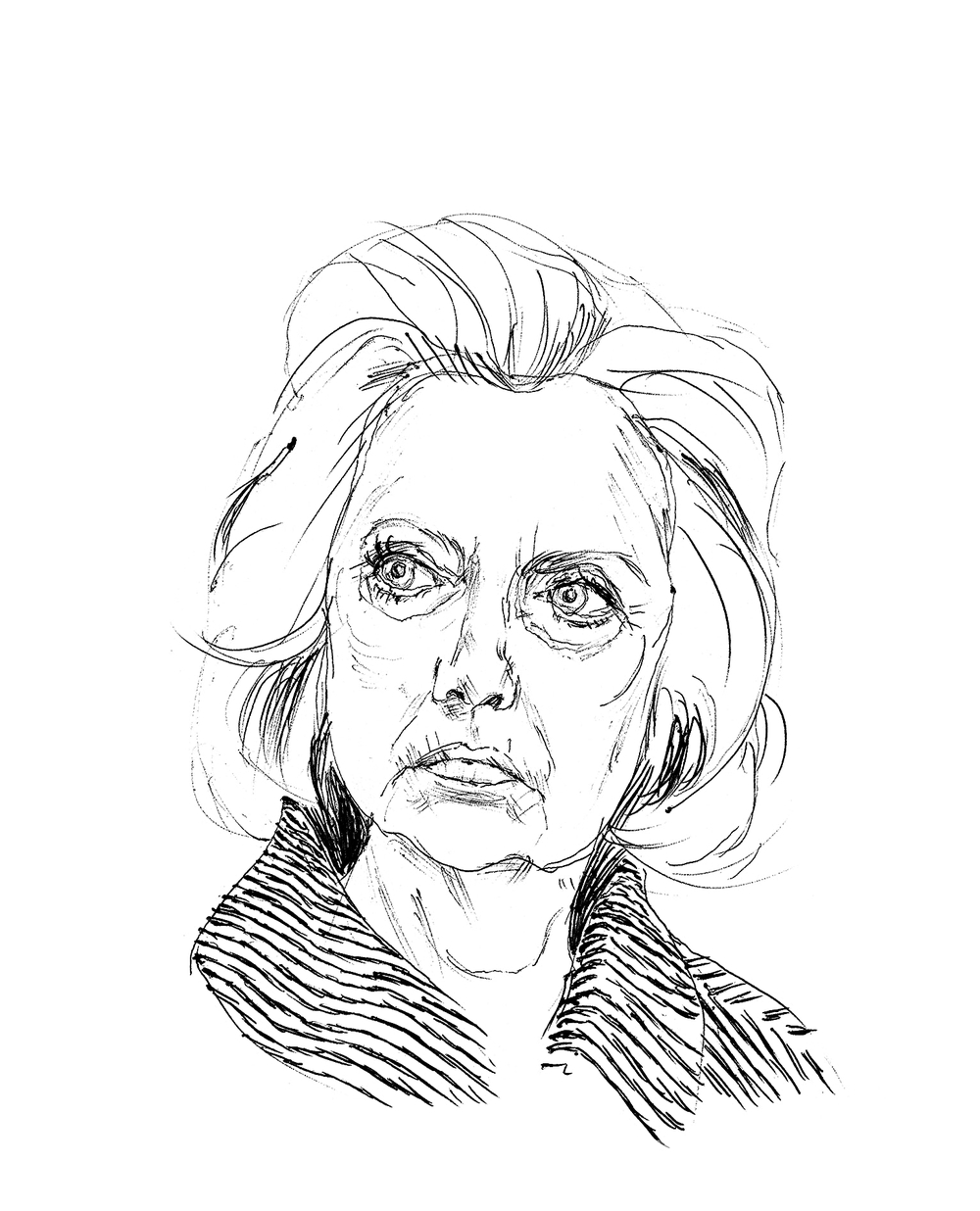 1000x1236 Hillary Clinton Renaldho Pelle