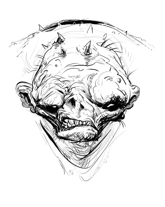 680x850 From The Sorcerer's Skull The Hills Have Eyes And Teeth