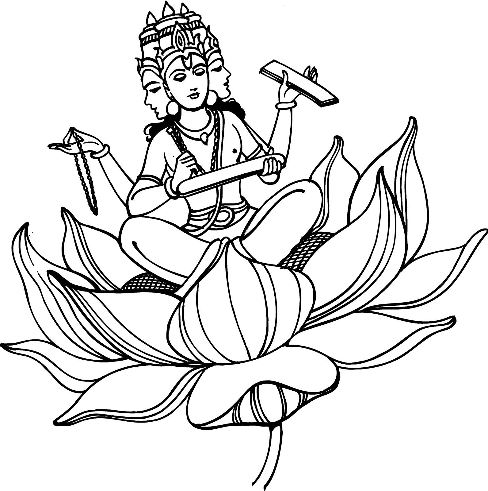 1592x1600 Hindu Mythology