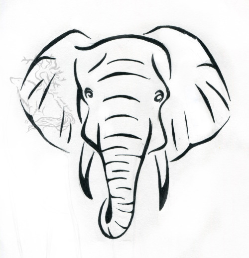 500x519 Hindu Elephant Head Drawing Images