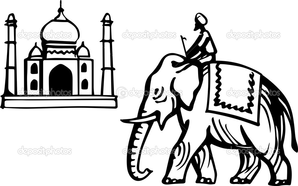 1024x639 Image Of Indian Elephant Clipart
