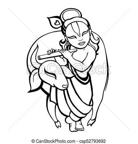 450x470 Hindu God Vector Clip Art Royalty Free. 5,829 Hindu God Clipart