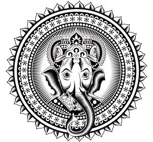 Hindu God Ganesh Drawing
