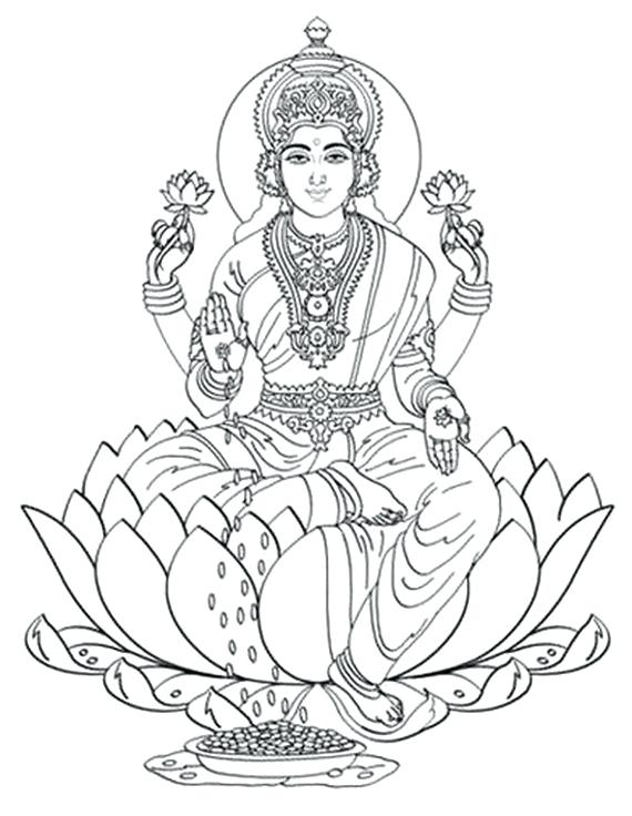 570x736 Hindu Coloring Pages Synthesis.site