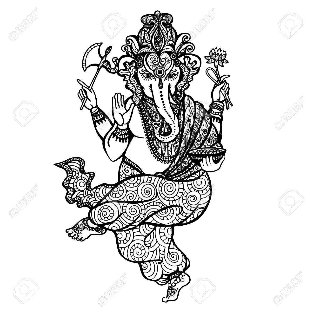 Hindu Gods Drawing At Getdrawings Com Free For Personal Use Hindu
