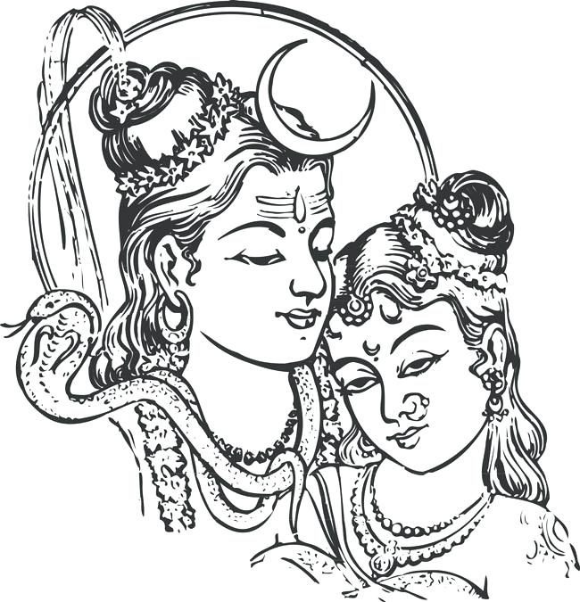 650x675 Epic Hindu God Coloring Pages Print Coloring Pages