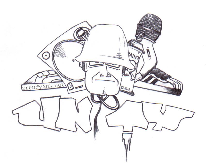 850x672 Zonk's Hip Hop Elements Unity Drawing