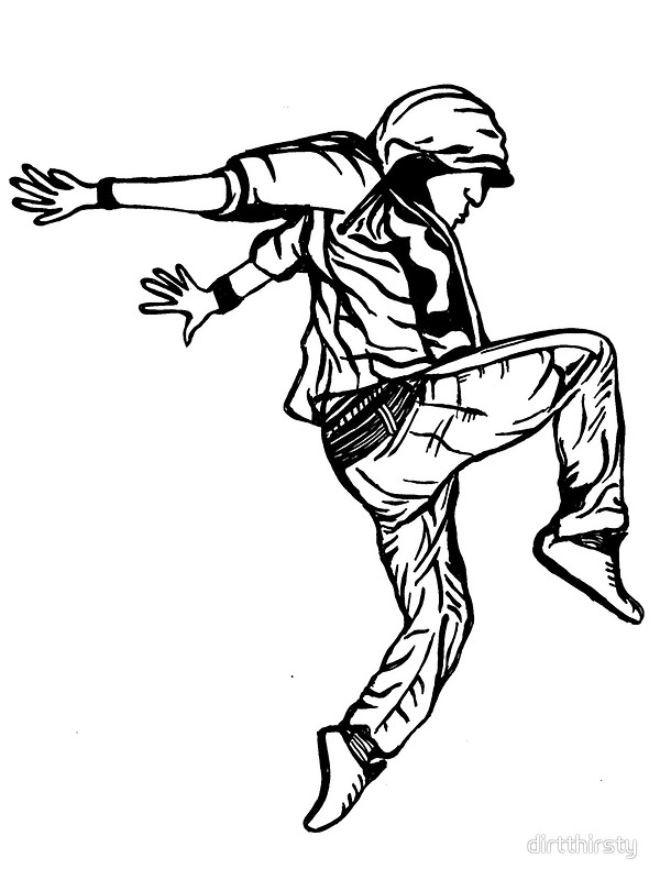 600x800 Hip Hop Dancer Stickers By Dirtthirsty Redbubble