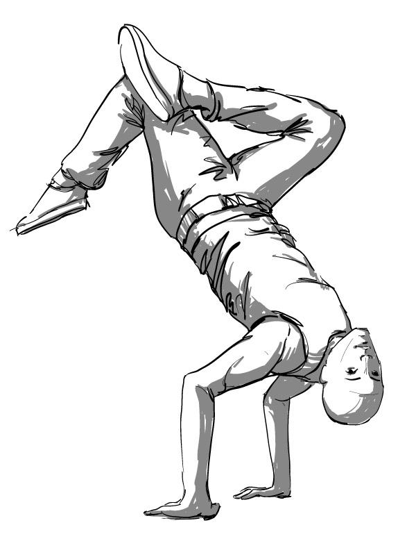 Hip Hop Dancer Drawing at GetDrawings.com | Free for ...