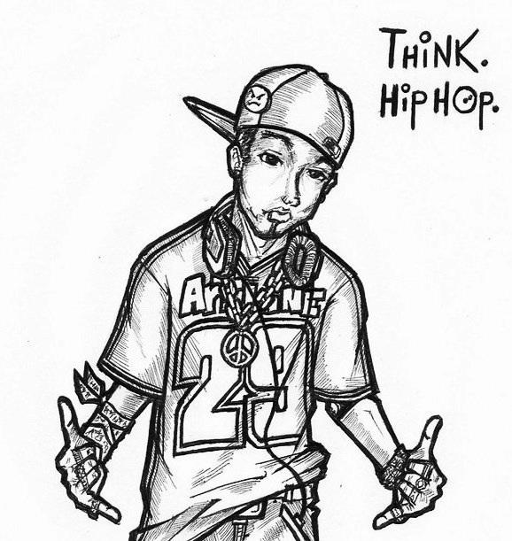 578x611 Hip Hop Drawing Hip Hop Drawings Tumblr