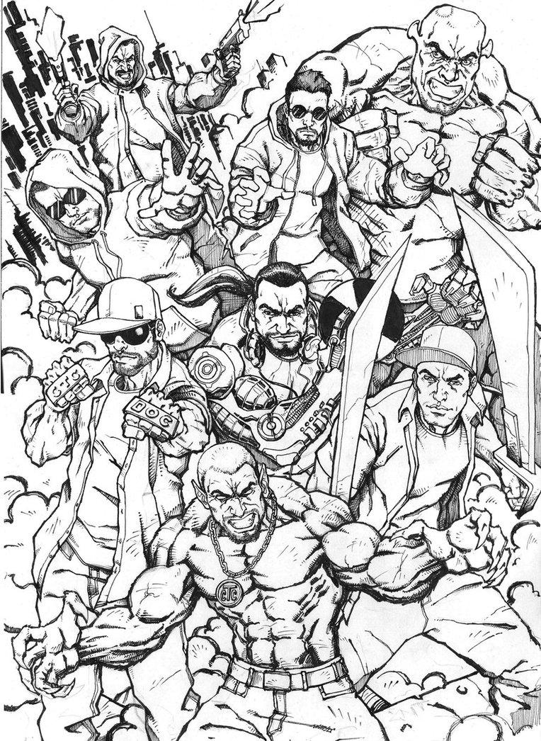 764x1046 Armada Ro Hip Hop Crew Ink By Andxxz