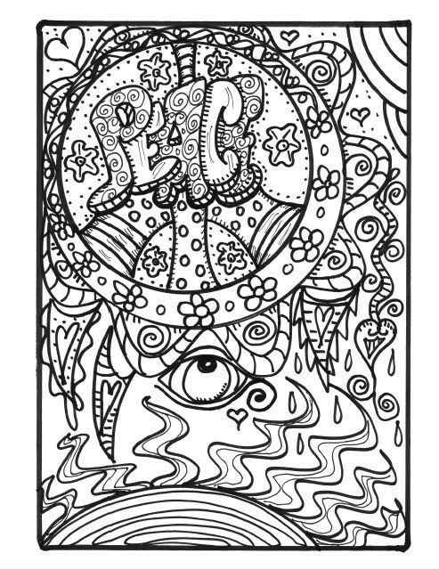 493x640 41 Best Hippie Coloring Pages Images On Coloring Books