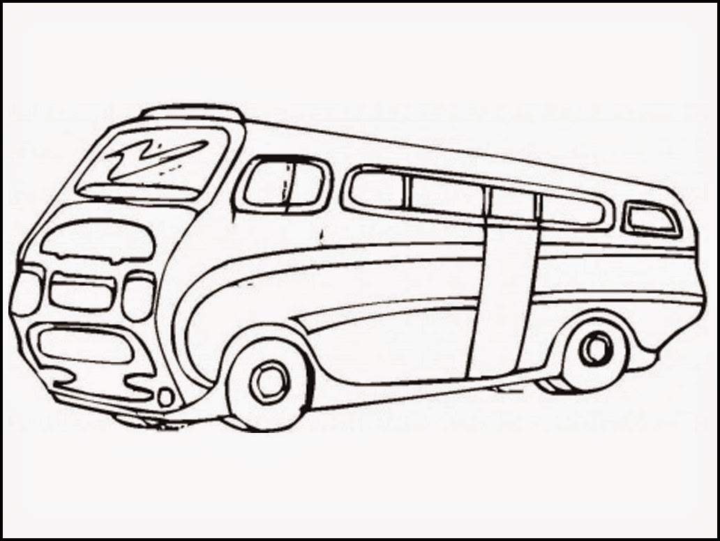 1032x776 Coloring Pages Vw Bus Coloring Page Hippie Pages Vw Bus Coloring
