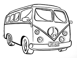 320x241 Washington Avenue Post A Drawing Challenge! Hippy Vw Van