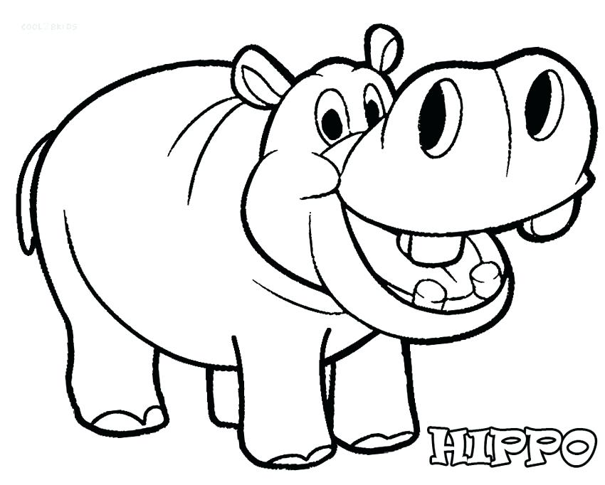 850x682 Top Rated Hippo Coloring Pages Pictures Free Coloring Pages